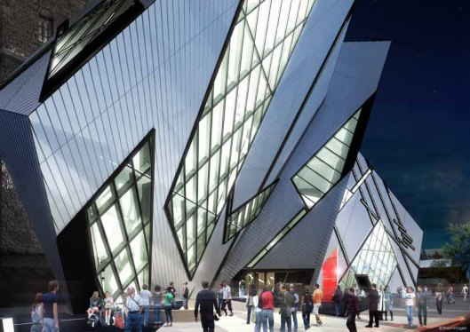 Royal Ontario Museum by ROM: B+H with Studio Daniel Libeskind (2009)