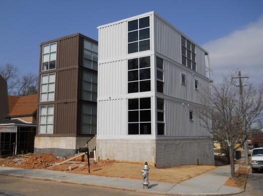 Architect Francis Kirkpatrick's shipping container houses - in my city Atlanta Ga