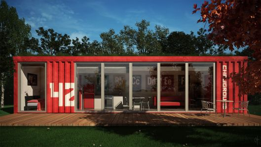 Container  House by CGarchitect